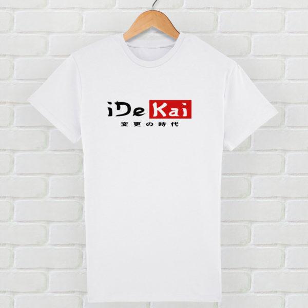 t-shirt écologique idekai